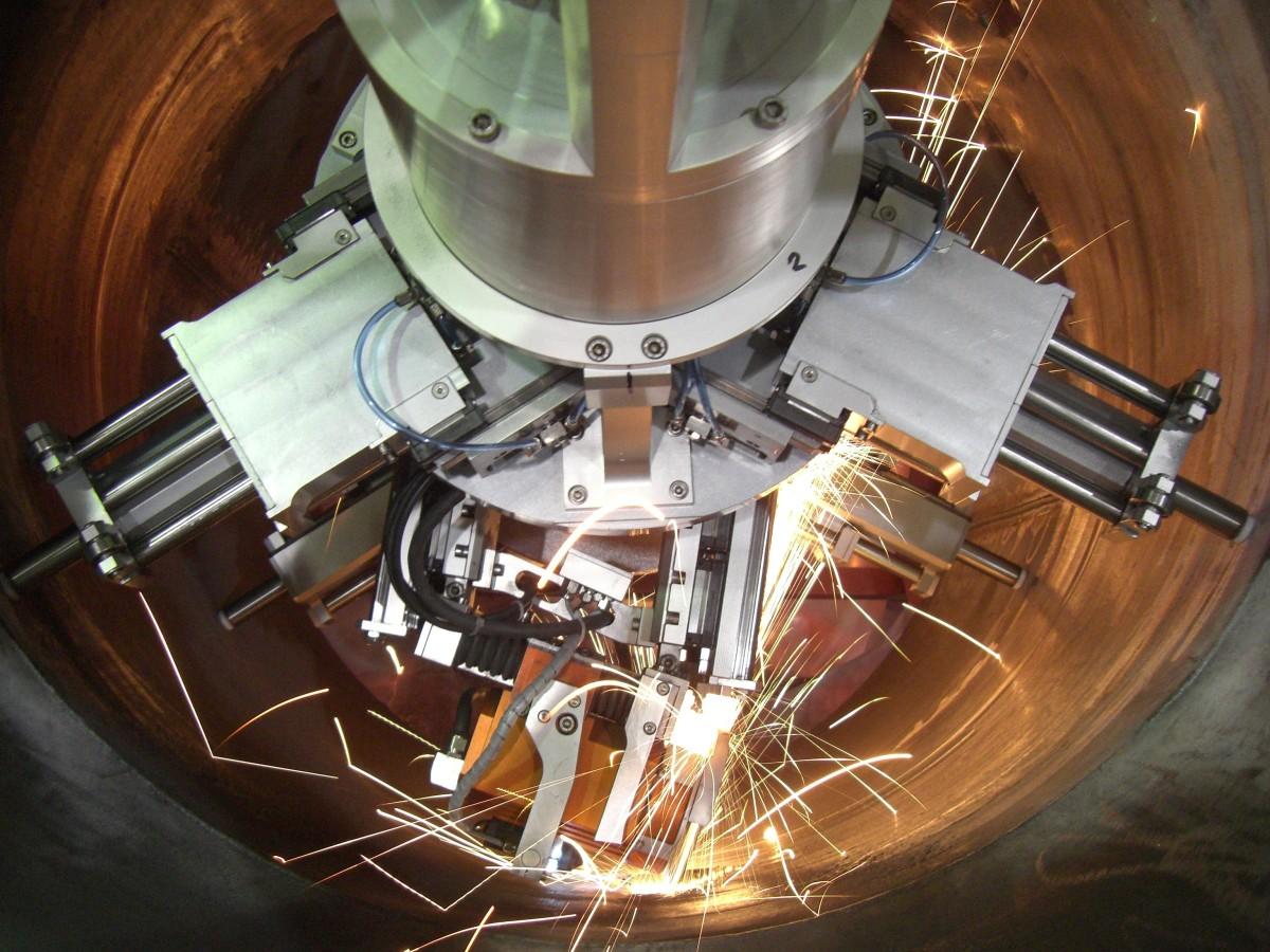grinding robots